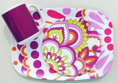 It's time for brunch. Will you be there?plateshoppe.com Dishwasher safe. #melamine#partysupplies #dishes#servingtray #coffeecup#coffeemug #mugs