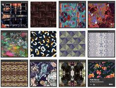 Buy and Sell Original Textile Print Designs Online in the Patternbank Studio trend forecasts print pattern inspiration graphics catwalks