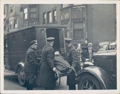 1936 Photo Business Men Police Emergency Vehicle Transportation Street Original