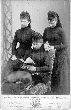 Viktoria, Sophie and Margarete