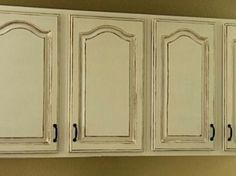 distressed cabinets google search antiqued kitchen white - Distressed White Kitchen Cabinets