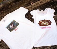 DIY Olympics Shirt Video Tutorial