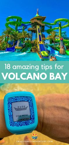 Universal Volcano Bay in Orlando is an amazing waterpark to take the family to. Our post will cover all of the ins and outs of Volcano Bay water park, the tricks we learned and the tips you need to enjoy it to the fullest. We also cover which rides are best for different ages of kids etc. Take a look and head to Volcano Bay to enjoy the lazy river, epic rides, crazy food, cabanas and, of course, the VOLCANO! #VolcanoBay #UniversalVolcanoBay #OrlandoFlorida #VolcanoBaytips