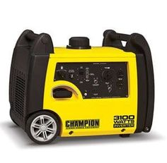 Champion Power Equipment Inverter Gasoline Portable Generator at Lowe's. The Champion Power Equipment portable inverter generator is the perfect combination of versatility and convenience. A quiet and Rv Outlet, Camping Generator, Emergency Generator, Gas Generator, Portable Inverter Generator, Materiel Camping, Champion, On The Road Again, Thing 1