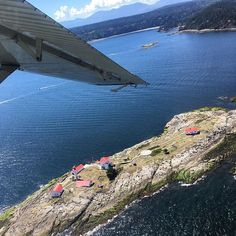 My vacation may be over, but a spontaneous float plane ride on a work day is easing the pain a little bit.   Entrance Island, British Columbia. 😍  #explorebc