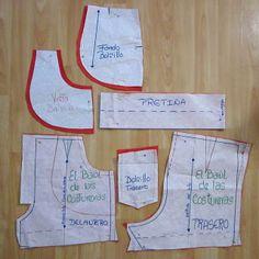Short de tiro alto para niña | EL BAÚL DE LAS COSTURERAS