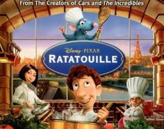 Disney Story Ratatouille DVD Lithographs Image Copyright Disney/Pixar 2007 Photo By Carrie Pilcher/PixarVixen 2007 Ratatouille Film, Ratatouille Disney, Disney Pixar, Walt Disney, Movie Showtimes, Secret Life Of Pets, Kids Events, Great Movies, Movies To Watch
