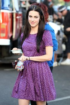 """Jessica Lowndes - Rumer Willis and Jessica Lowndes Filming """"90210"""""""
