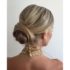 Sleek Sophisticated Bun- Wedding Updo