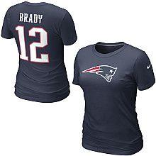 1e085c2c2 Nike New England Patriots Tom Brady Women s Name  amp  Number T-Shirt -  NFLShop
