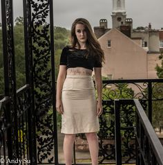 This skirt was made in Spring 2015 by Desiree Ellen
