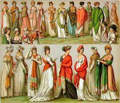 Regency Era Shawls