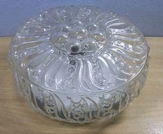 Mid Century Glass Flush Mount Bubble Ceiling Lamp #