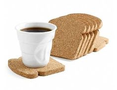 toaster coasters...  I could have a breakfast theme house if I make the pancake and butter floor pillows!