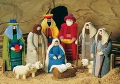 Jean Greenhowe Designs - Knitted Nativity