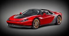 世界に6台だけのスーパーカー「フェラーリ・セルジオ」とは(画像)