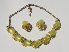 Yellow Lucite and enamel flower by AMagnificentMess on Etsy, $38.00