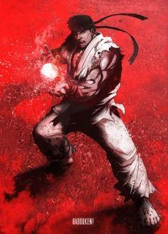Premium quality metal prints from Gaming Characters designed by Eden Design. Find posters you really like. Game Character Design, Character Art, Geeks, Street Fighter 1, Eden Design, Dark Wallpaper, Dark Fantasy Art, Manga, Anime