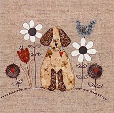 A DOG'S LIFE BLOCK 1 OF 4 QUILTING PATTERN, Lynette Anderson Designs NEW