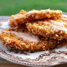 Unfried Green Tomatoes - A healthy alternative to Fried Green Tomatoes