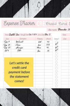 Start to manage your budget with this easy-to-use printable PDF expense tracker - When you track every single transaction, you will be surprised on the amount you spent on needs and WANTS#printable #printables #etsy #instantdownload #valentinesday #diy #valentines #print #etsyshop #desserttable #art #partyplanner #party Monthly Budget, Budget Planner, Spending Tracker, Perfect Money, Planner Sheets, Expense Tracker, Pay By Credit Card, Financial Planning, Budgeting