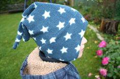 Rockermütze, Mütze mit Ohrenklappen, Zipfelmütze nähen, KU 52