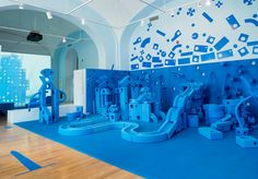 8 | An Interactive Exhibit Chronicles The History Of Building Blocks | Co.Design | business + design