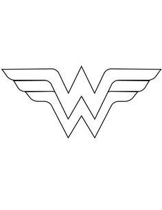Wonder Woman Logo Coloring Pages. 20 Wonder Woman Logo Coloring Pages. Wonder Woman 49 Printable Coloring Page for Kids and Adults Logo Wonder Woman, Wonder Woman Party, Wonder Woman Cake, Diy Wonder Woman Costume, Wonder Woman Birthday Cake, Disfraz Wonder Woman, Costume Batman, Thor Costume, Anniversaire Wonder Woman