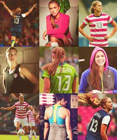 Alex Morgan #Alex #Morgan no other way to put it, she's my ultimate inspiration. lo0oOOoove her