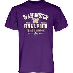 UW Womens Basketball team makes it to the Final Four. Go Huskies!