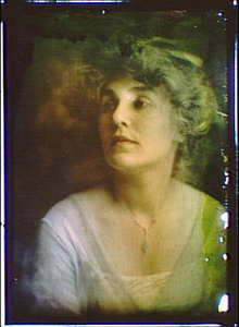 Emily Stevens,portrait photographs,autochromes,color,women,Arnold Genthe,1906