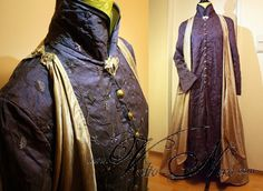 Lord Elrond Robe The Hobbit cosplay costume by Volto-Nero-Costumes