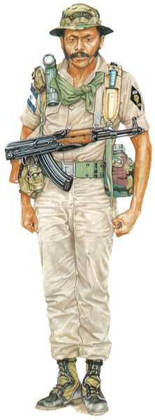USA-CIA, FDN Special Force, Nicaragua 1984 - pin by Paolo Marzioli