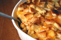 Buffalo Chicken Mac 'N' Cheese Casserole.