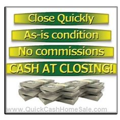 Selling a house can be stressful, time-consuming, and expensive. We can eliminate that stress and give you the peace of mind that comes with knowing your house hassles are completely done – without having to fix it up, show it, wait for buyer financing, or evict the tenants.  http://www.quickcashhomesale.com/get-a-cash-offer-today/