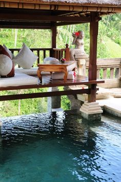 Poolside Luxury - Viceroy Hotel, Bali #lindttruffle #influenster #RoseVoxBox