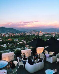 My favourite view of Santiago so far