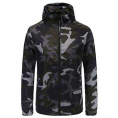 ad6e37f143cd4 Camouflage Print Slim Zipper Jacket #Fashion #Mens #Men #ArmyGreen