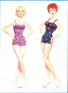 Paper Dolls: I love Lucy