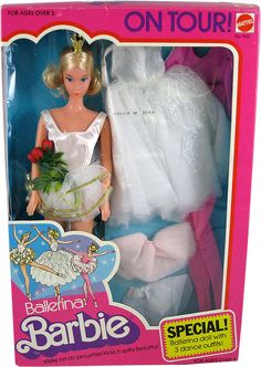 *1975 Ballerina on tour Barbie doll 2 #9613