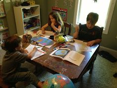 Homeschooling 3: Weekly Highlights: Our Second Week Back to School