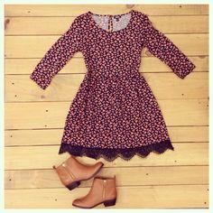 """<><><> Sears Woodfield #mystyle @seventeenmag  Dress & booties Booties & dress @sears @searsstyle @shopyourway  #seventeenmag  #fashion #style #stylish…"""