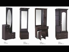 Dressing Table for Your Personal Boudoir – Decoration Channel - Modern Bedroom Cupboard Designs, Wardrobe Design Bedroom, Bedroom Bed Design, Bedroom Furniture Design, Bedroom Dressing Table, Dressing Room Design, Dressing Mirror, Simple Dressing Table Designs, Black Vanity Table