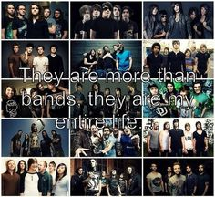 Motionless In White, We Came As Romans, Bring Me The Horizon, Peirce The Veil, and We Came As Romans