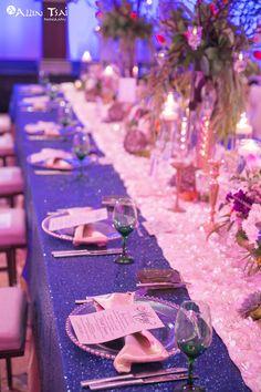 Love the long tables! #prairieballroom #hiltongranitepark #hiltondpgp #events #weddings #reception #ceremony #plano #dallas #texas #setup #catering #hotel #centerpiece #florals #setup #longtables