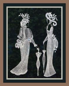 Опять к боковой подушки 2 Fabric Stiffener, Bobbin Lacemaking, Lace Art, Bobbin Lace Patterns, Lace Jewelry, Lace Making, String Art, Pattern Paper, Crochet Stitches