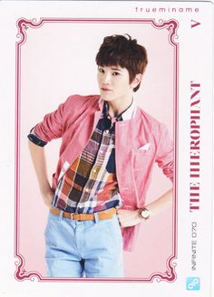 Sungjong ♡ #INFINITE - Official Collection Card