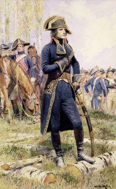 Napoléon Bonaparte en tenue de général de division, première campagne d'Italie, 1796-1797