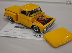 Lowrider Model Cars, Ship In Bottle, Model Cars Building, Hobby Cars, Utility Truck, Chevy Stepside, Truck Scales, Plastic Model Cars, Train Layouts