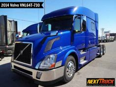 "Our featured #truck is a 2014 #Volvo VNL64T-730 #Sleeper, Volvo D13 Engine, 455 HP, Air Ride Suspension, 237"" WB, 77"" Mid Roof Sleeper. Check out this week's recently added trucks at http://www.nexttruckonline.com/trucks-for-sale/All-Categories/All-Makes/All-Models/results.html?days_old-max=7 #TrucksForSale #Trucking #SemiTrucks #NextTruck"